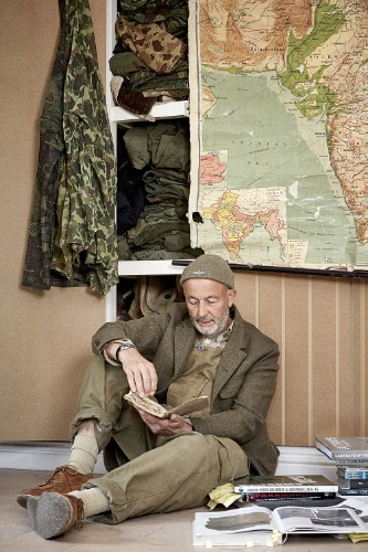 NIGEL CABOURN 18AW LOOKBOOK