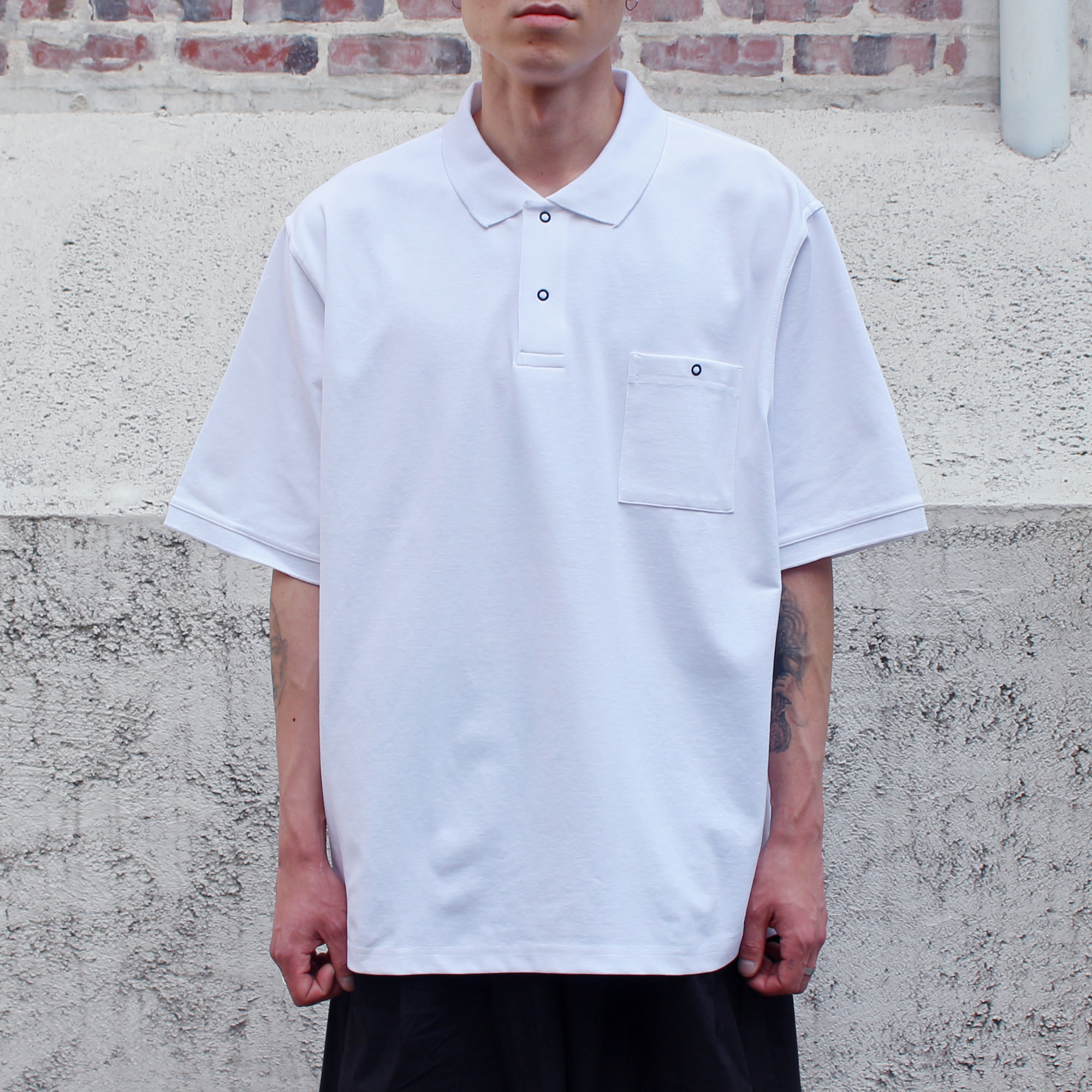 BB POLO T-SHIRTS_WHITE