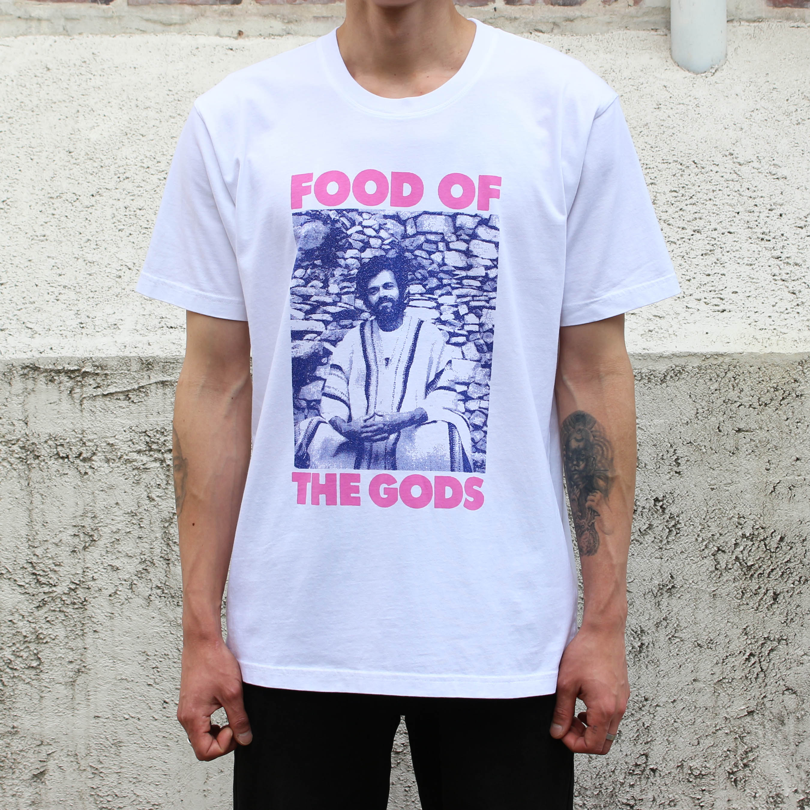 FOOD OF THE GODS SS TEE_WHITE