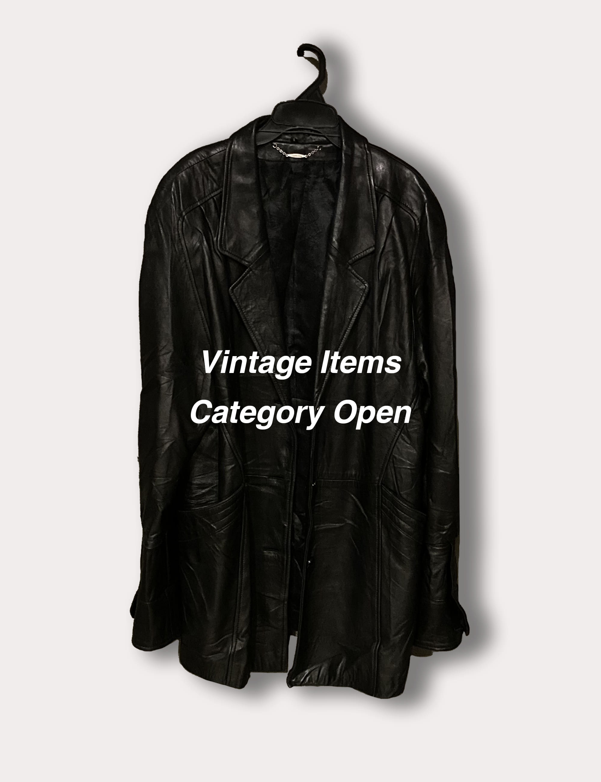 VINTAGE ITEMS CATEGORY OPEN