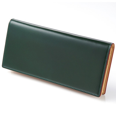 CORDOVAN LONG WALLET_GREEN