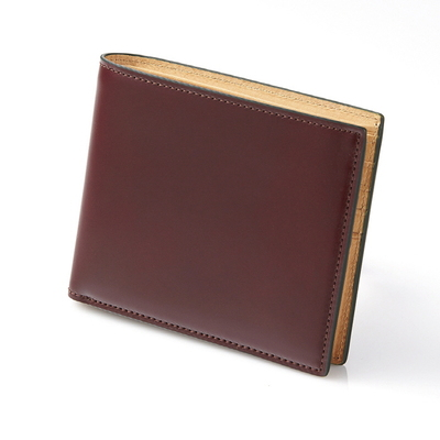 CORDOVAN MIDDLE WALLET_BURGUNDY