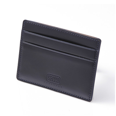 CORDOVAN CARD CASE_NAVY