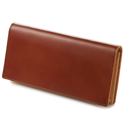 CORDOVAN LONG WALLET_TAN