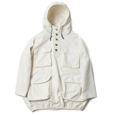 PULLOVER COAT_OFF WHITE