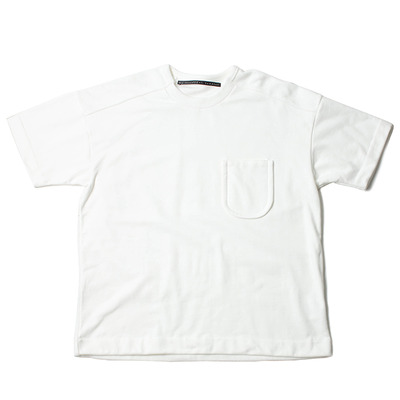 DUTCH MILITARY RE PRODUCT PILE TEE_WHITE