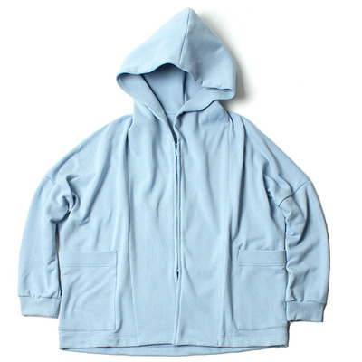 BIG HOODED PARKA_SAX BLUE