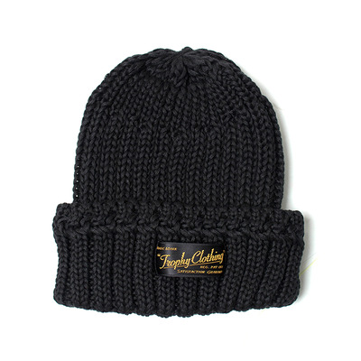 LOW GAUGE COTTON CAP_BLACK