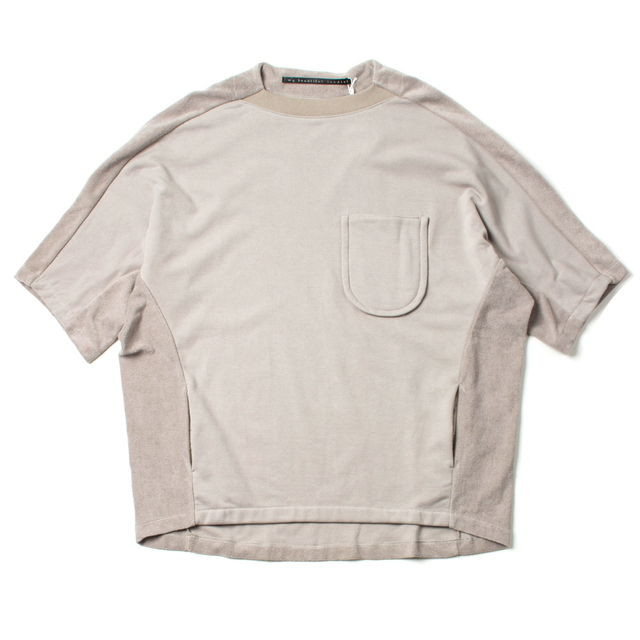 DUTCH MILLITARY RE PRODUCT PILE TEE_GRAY