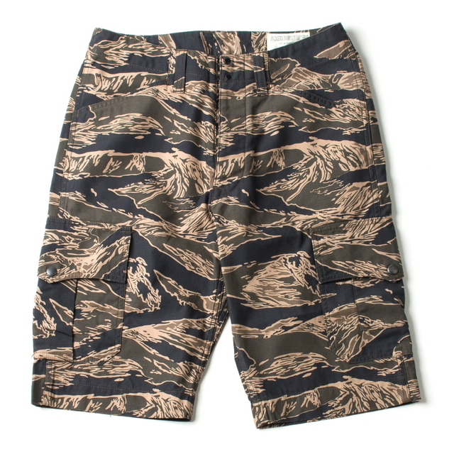 TIGERSTRIPE FATIGUE SHORTS