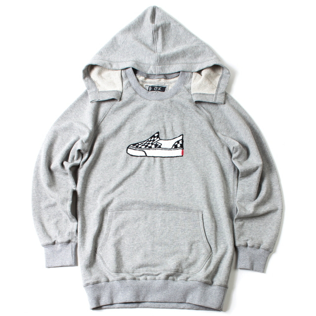 SWEAT PARKA_GRAY