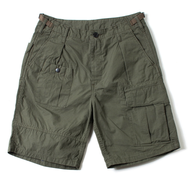 CANVAS HANDS-FREE SHORTS_KHAKI