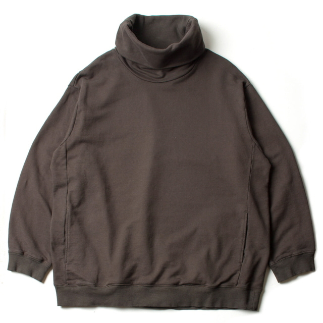 HIGH NECKED SWEAT_CHARCOAL