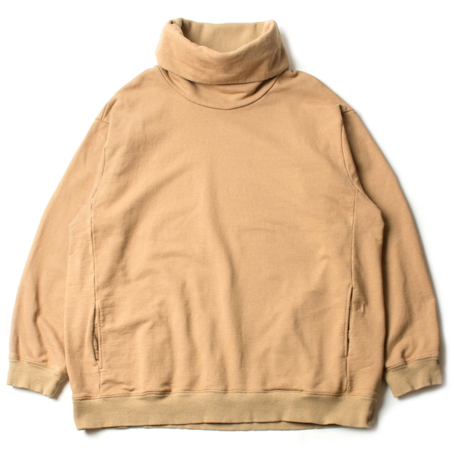 HIGH NECKED SWEAT_BEIGE