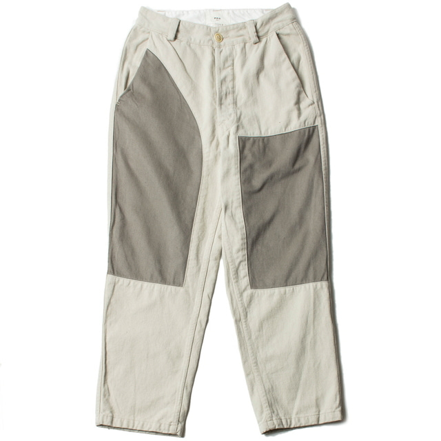 PATCH TROUSER_OFF WHITE