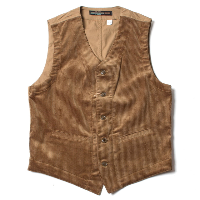 BROOKLYN CODE VEST_BROWN