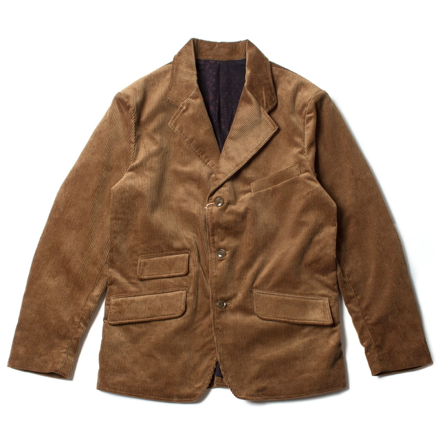 BROOKLYN CODE JACKET_BROWN