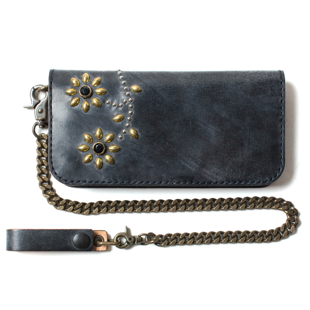 FLOWER STUD WALLET