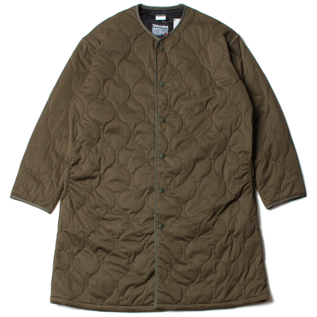 SNAP UP CREW COAT_OLIVE