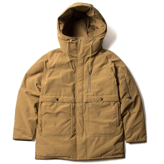 DOWN COAT_BEIGE