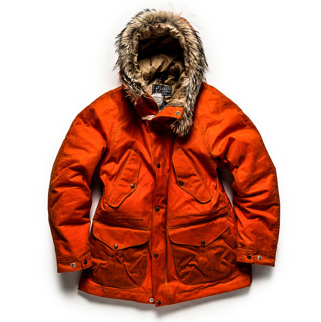 NEW FISH PARKA_ORANGE