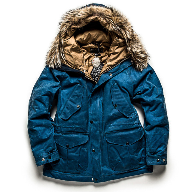 NEW FISH PARKA_MID BLUE