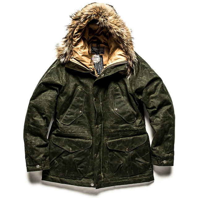 NEW FISH PARKA_DARK GREEN
