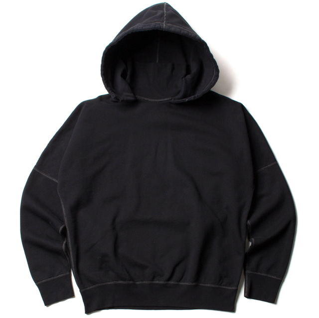 TURTLE HOODED SWEAT_BLACK