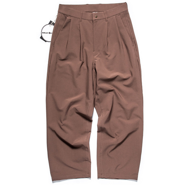 EQUILBRIUM WIDE PANTS_BROWN