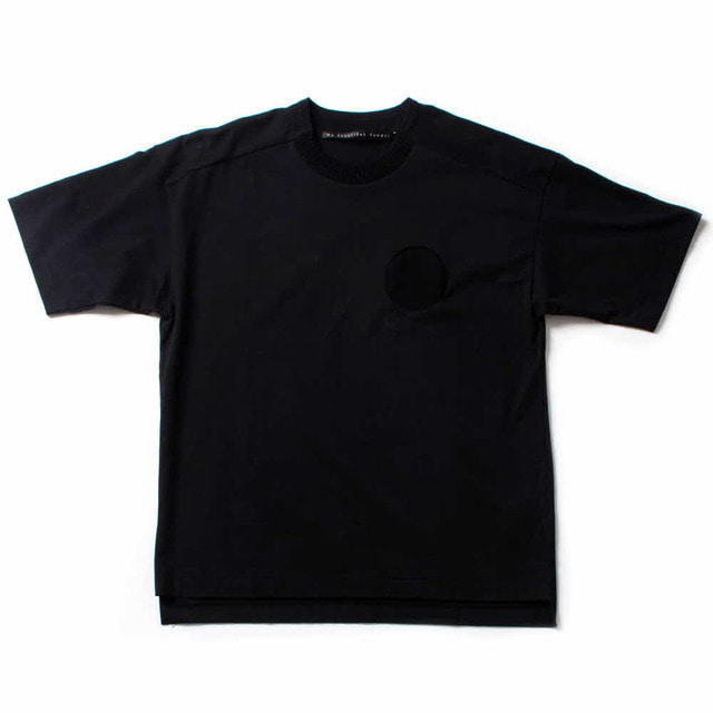 PLAIN STITCH T-SHIRT_BLACK