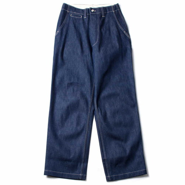 FIELD TROUSER_NATURAL INDIGO