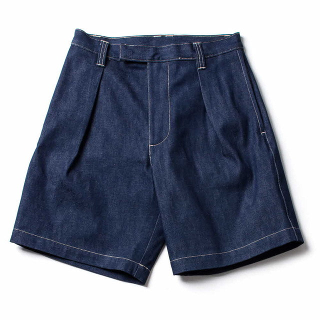 NAVAL SHORT_NATURAL INDIGO