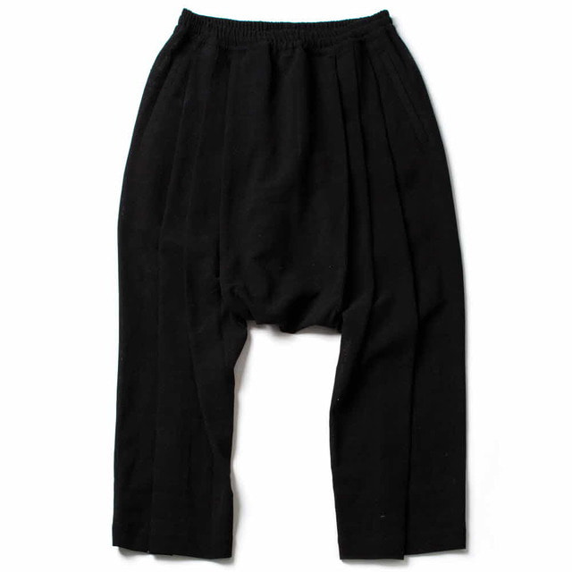EXTRA LOOSE FIT TROUSERS_BLACK