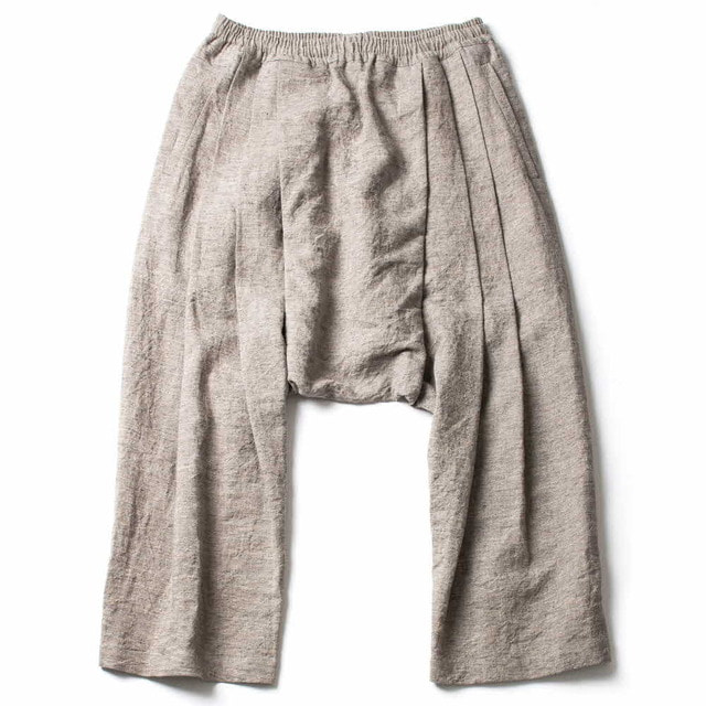 EXTRA LOOSE FIT TROUSERS_GRAY