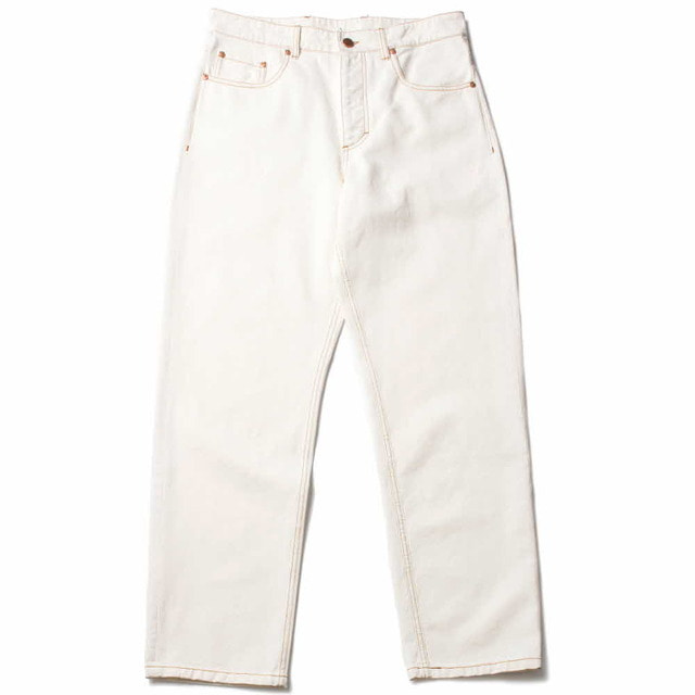 ODON WIDE JEANS_OFF WHITE