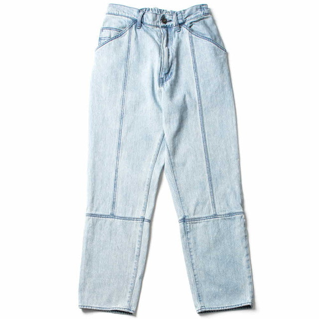 12OZ DENIM EASY NARROW PANTS_BLEACH