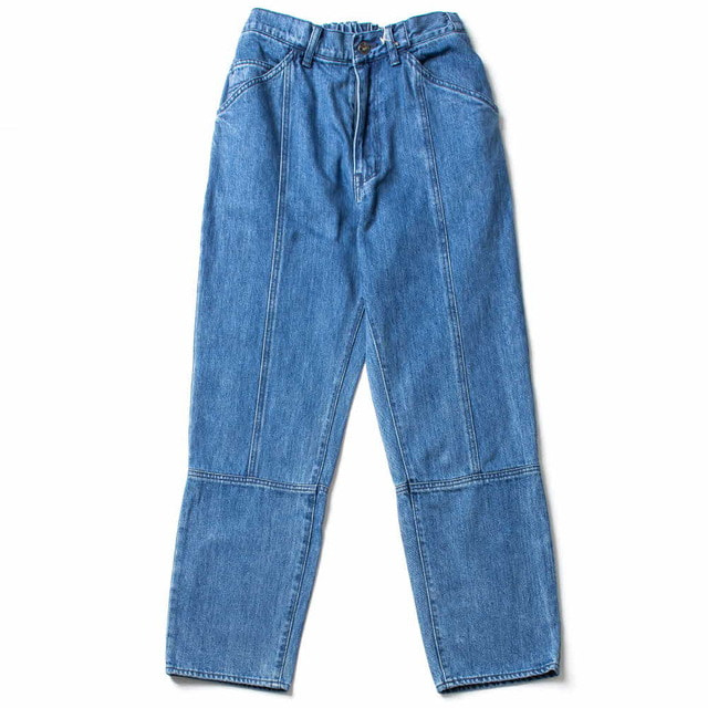 12OZ DENIM EASY NARROW PANTS_BIO WASH