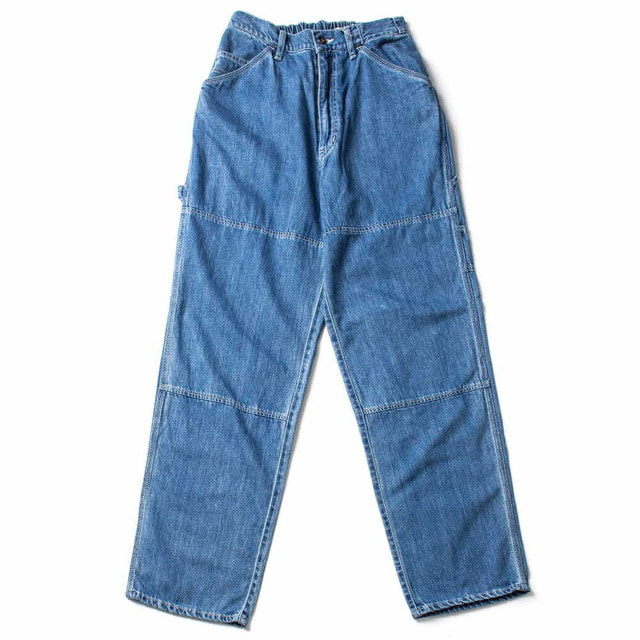 11.5OZ DENIM EASY PAINTER PANTS_BIO WASH