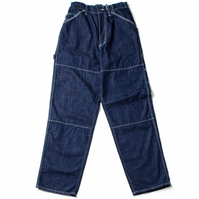 11.5OZ DENIM EASY PAINTER PANTS_ONE WASH