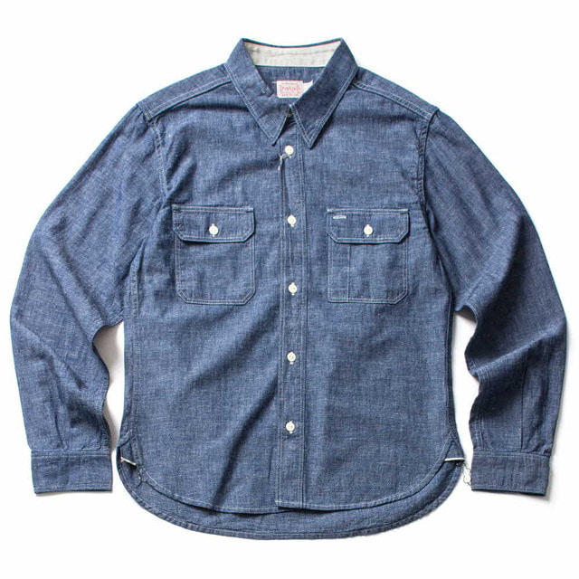 HARVEST SHIRTS_INDIGO
