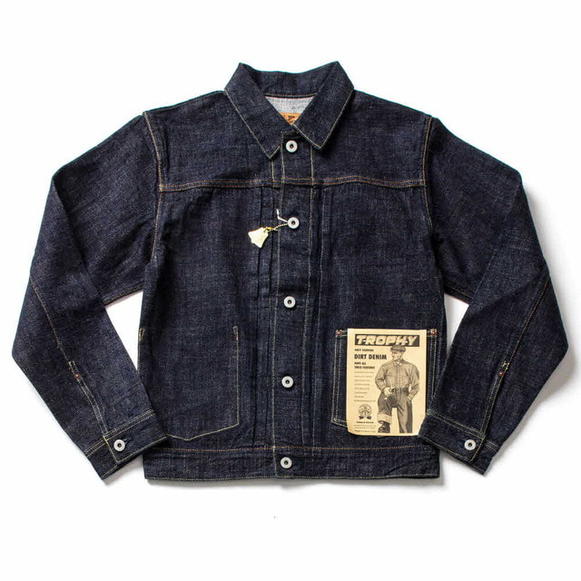 DIRT DENIM JACKET_INDIGO