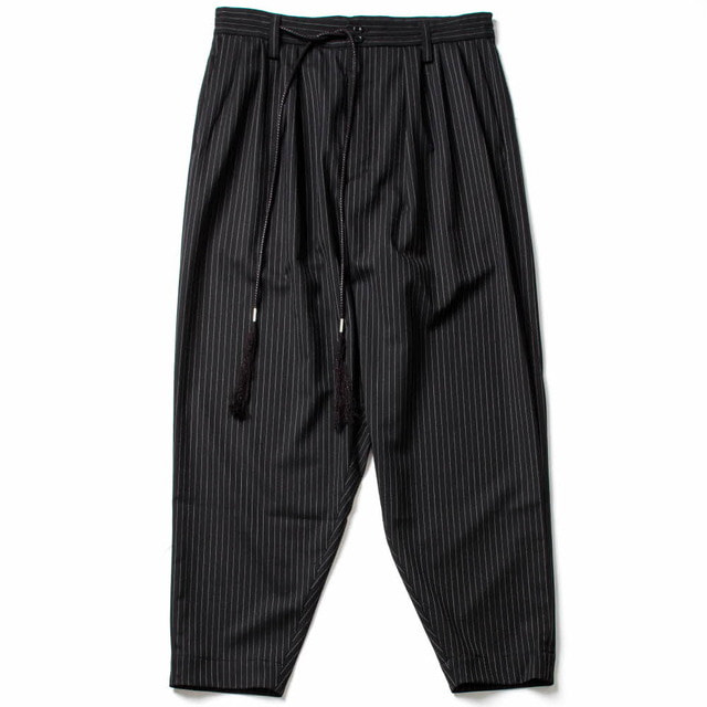 EASY PANTS_BLACK STRIPE