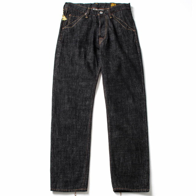 1605BK STANDARD BLACK DIRT DENIM