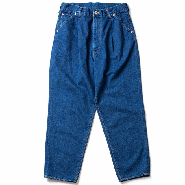 DENIM TUCK WIDE TAPE_INDIGO