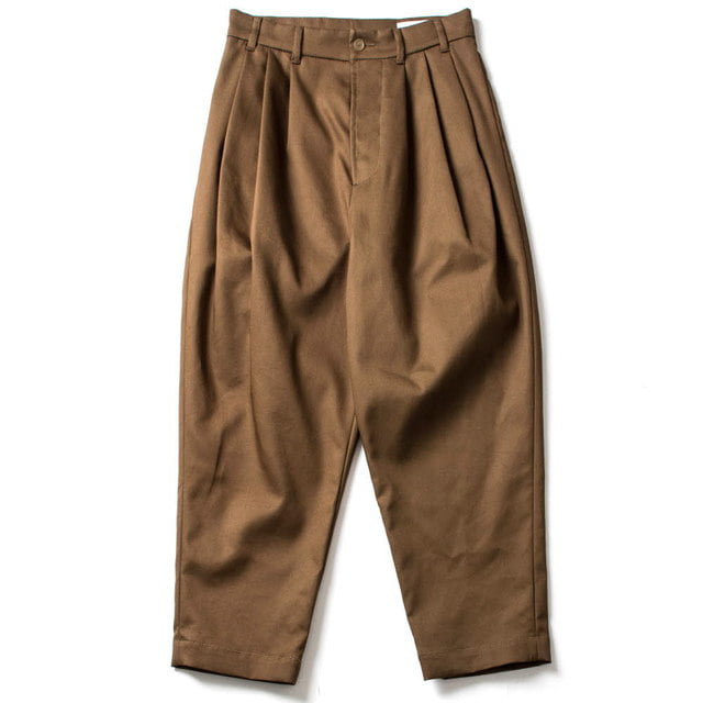 FOUR PLEAT PANTS_KHAKI