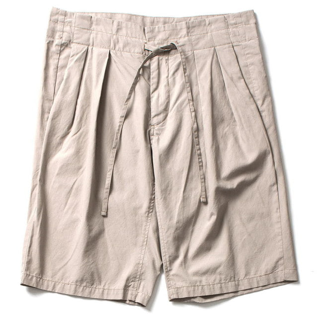 DROP CROYCH SHORTS_BEIGE