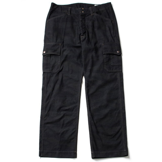 TIGERSTRIPE FATIGUE PANTS_BLACK