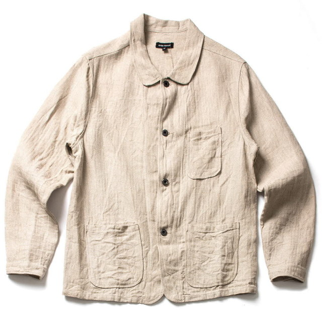 THREE POCKET JACKET_NATURAL