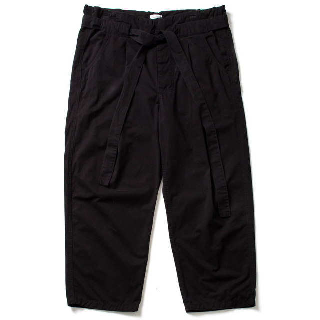 CHUCA CHINO WIDE PANTS_BLACK