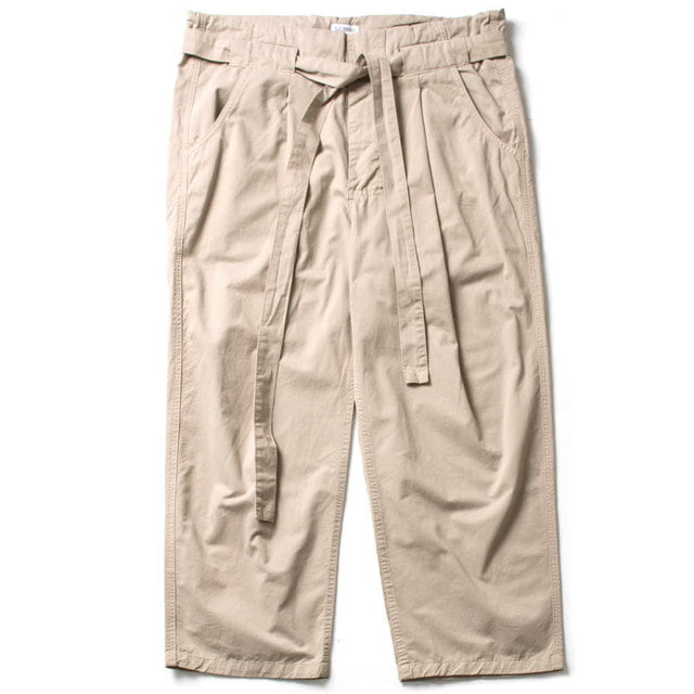 CHUCA CHINO WIDE PANTS_KHAKI